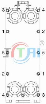 板式雷竞技官方网站螺栓拧紧次序图